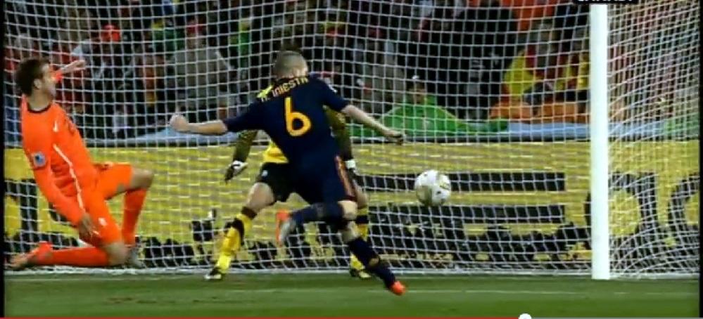 Gol de Iniesta. España Campeona del Mundo