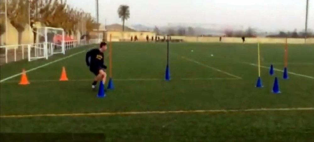 Análisis de los cambios de dirección en fútbol tras un entrenamiento de fuerza basado en el Perfil Fuerza- Velocidad
