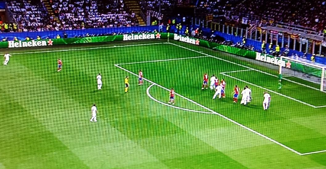 Gol del Real Madrid en Fuera de Juego en la Final de la Champions contra el Atlético de Madrid