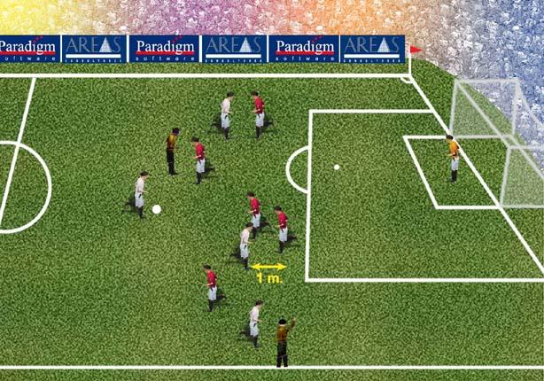 No Fuera de juego, not offside position
